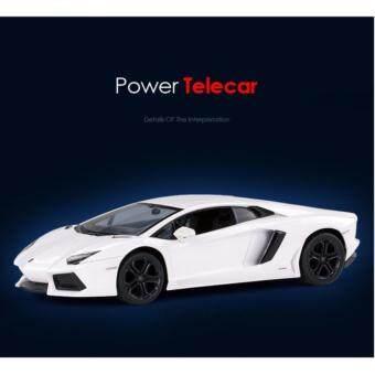 Astro Rastar รถบังคับวิทยุ ลิขสิทธิ์แท้ Model Lamborghini Aventador LP700 - White