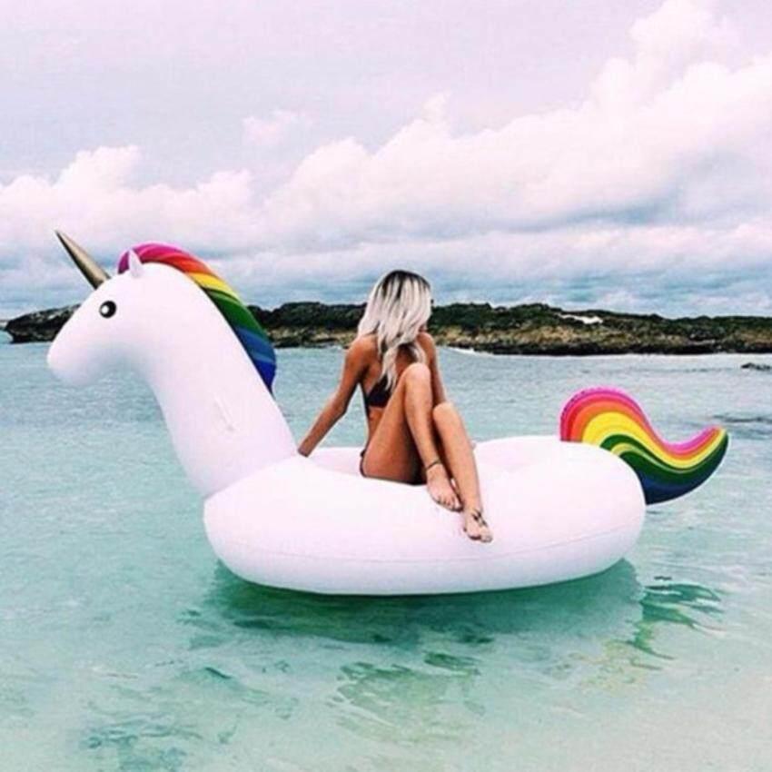 Atrix ห่วงยางยูนิคอร์น ขนาดใหญ่พิเศษ Unicorn Swimming Pool Inflatable Float Raft Size XL แพยางเป่าลม เรือยาง รุ่น KDS-0005-XL