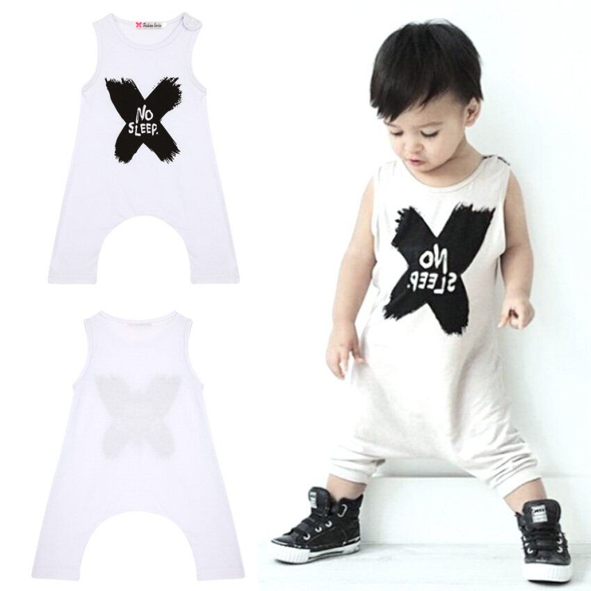 Baby Boy Girl Clothes Set (White) - Intl