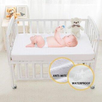 เปลเด็กเตียงนอนที่นอนกันน้ำ ผ้าฝ้ายเทอร์รี่ Anti-MITE ปัสสาวะป้องกันที่นอนป้องกันสำหรับทารก Cradle เตียง
