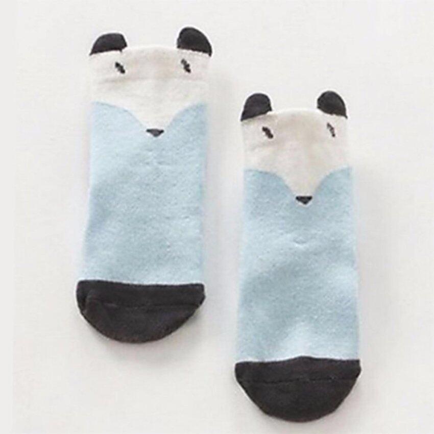Baby Touch ถุงเท้าเด็ก ยาวบาง คุณหนู (จิ้งจอกฟ้า)