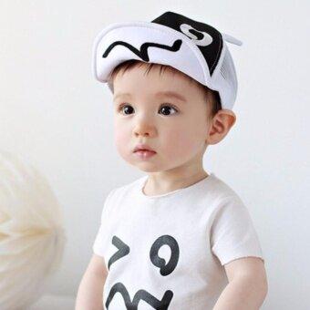 Baby Touch หมวกเด็ก แสนซน (ขาว)