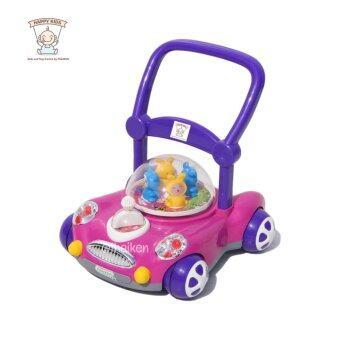 รถผลักเดิน เสริมพัฒนการ สีชมพู Baby Walker (Pink) 6033