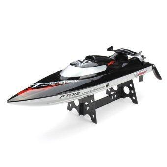 Babybearonline เรือบังคับไฟฟ้า Brushless RC Racing Boat FT012 - Black