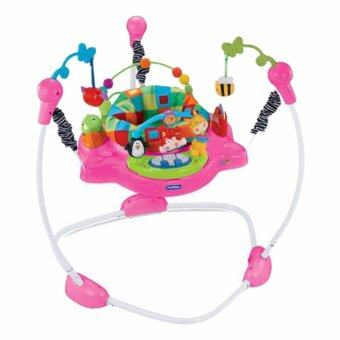 BabySAVE Baby Walker Jumperoo Discover 'n Grow (Pink)