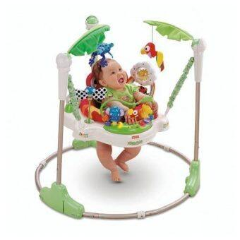 BabySAVE Baby Walker Jumperoo with MusicLight (Green)