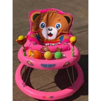 Babyshine รถหัดเดิน หน้าหมี Teddy มีเสียงดนตรี