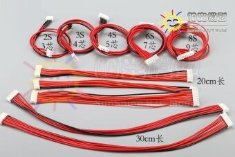 Harga Balance Silicone Wire Cable 2S 3Pin 3S 4Pin 4S 5Pin 6S 7Pin 8S 9Pin2.54XH 30cm - intl