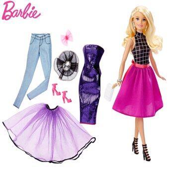 Barbie Fashion Mix N Match Doll รุ่น DJW57 (สีชมพู)