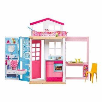 Barbie® บ้านบาร์บี้ 2 ชั้น
