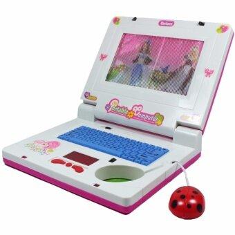 BELLTOY ของเล่น คอมโน๊ตบุคบาร์บี้ สีชมพู HQ2236C