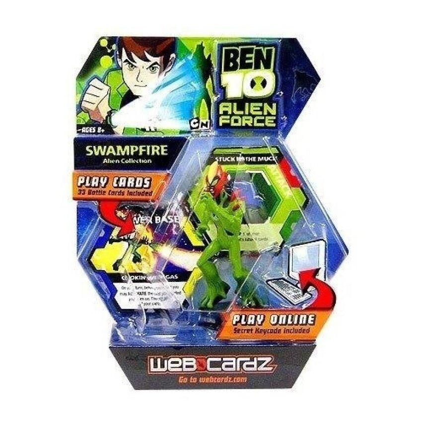 Ben 10 WebCardz - Swampfire deck - intl