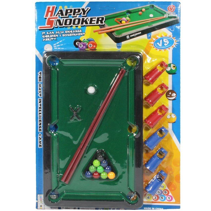 BKL TOY ของเล่น โต๊ะสนุ๊กเกอร์ 6002B-1
