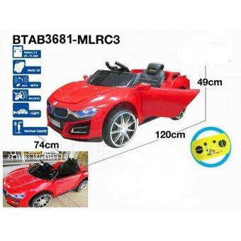 BMW Concept i8 12V 2 Motors คันใหญ่ รถแบตเตอรี่ รถเด็กนั่งไฟฟ้า - สีแดง