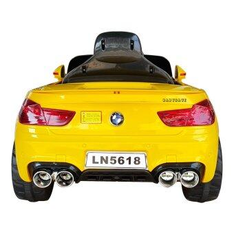 รถเด็กเล่น รถแบตเตอรี่ รถไฟฟ้า รุ่น BMW รุ่น LN5618(สีเหลือง) (image 2)
