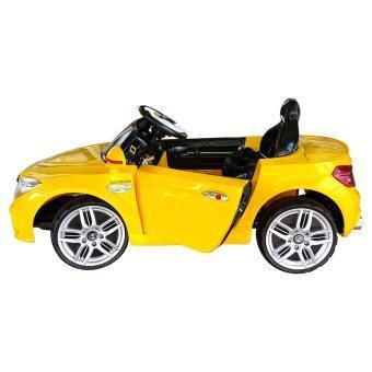 รถเด็กเล่น รถแบตเตอรี่ รถไฟฟ้า รุ่น BMW รุ่น LN5618(สีเหลือง) (image 4)