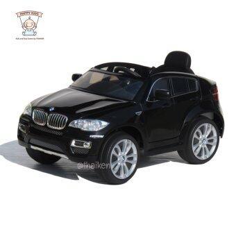 BMW รถเก๋งเด็กไฟฟ้า รุ่น BMW X6 (Licensed) Black