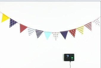 Bubblekiss Party Dress Up Item Birthday Flag Banner Banner BannerDecoration Navy Wind Triangle Flag - intl