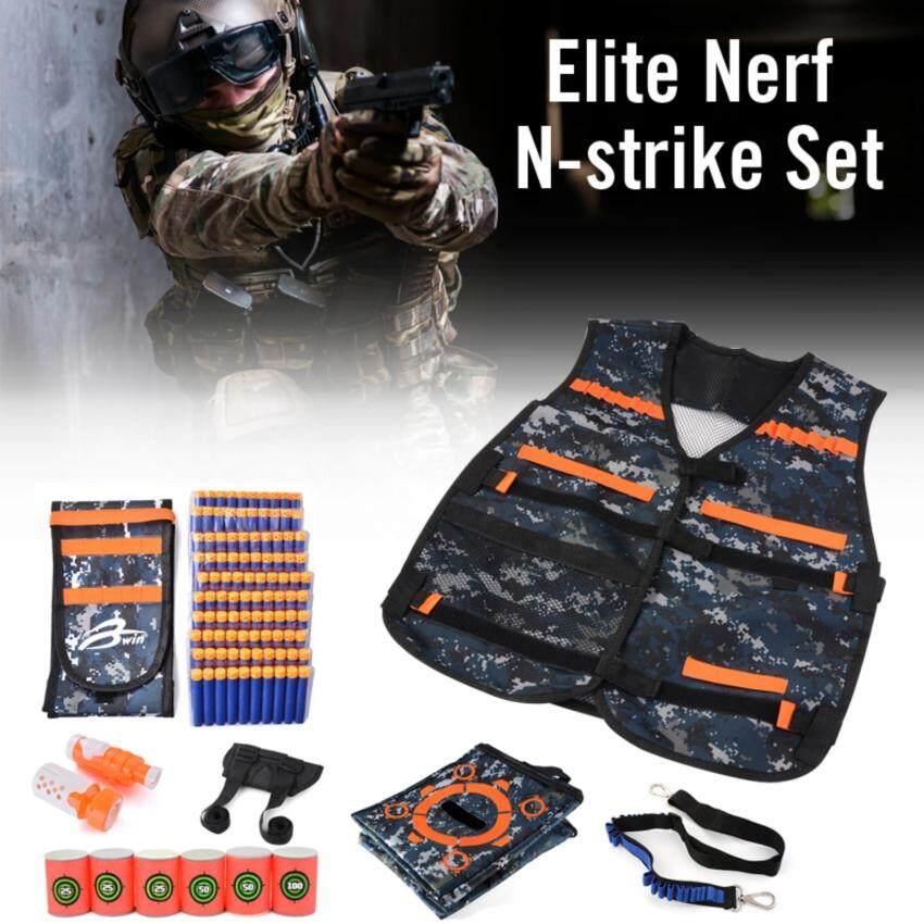 เสื้อกั๊ก Bullet Vest Kit ชุดกระเป๋า สำหรับ Nerf N-strike Elite Series image