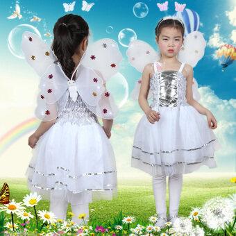 Butterfly เด็กเทศกาลผีเสื้อชุดเสื้อผ้าประสิทธิภาพ