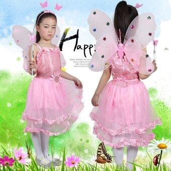 Butterfly เด็กแสดงเสื้อผ้า