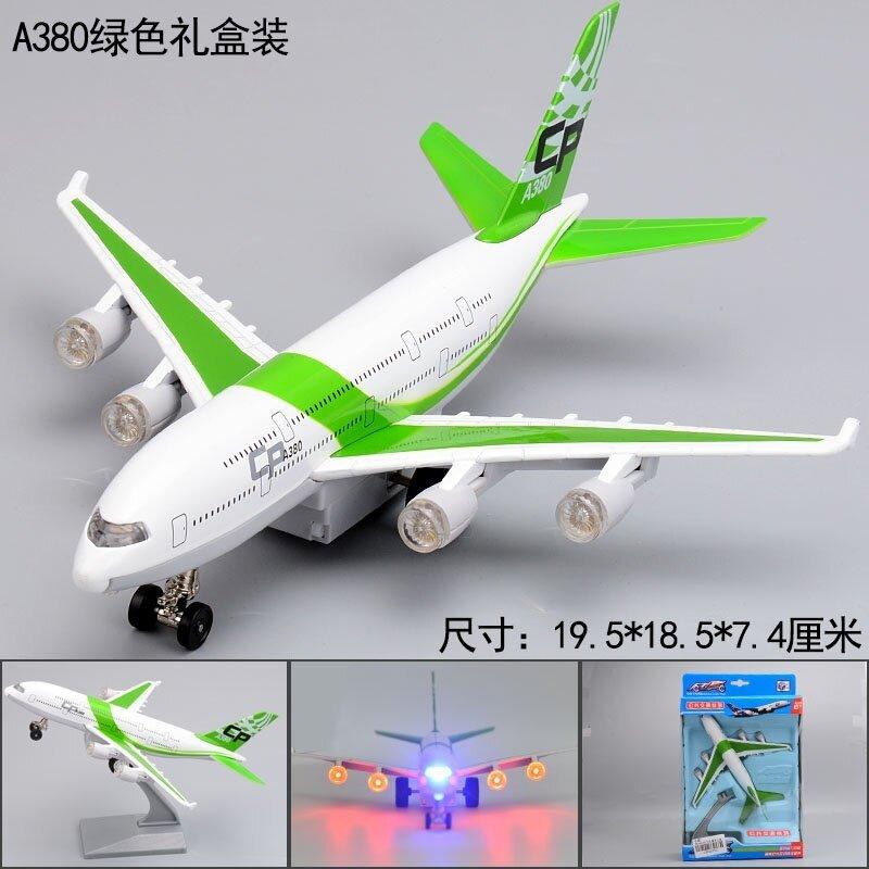 CAIPO เครื่องบินโลหะจำลองรุ่น A380