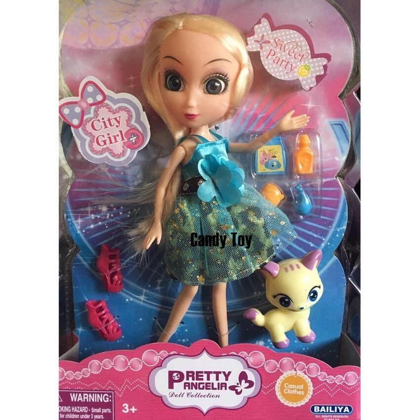 Candy Toy  ตุ๊กตาบาร์บี้  ตุ๊กตาตาโต  พร้อมสัตว์เลี้ยง