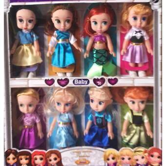 Candy Toy ตุ๊กตาเจ้าหญิง5 ตัว 6 ตัว 8 ตัว