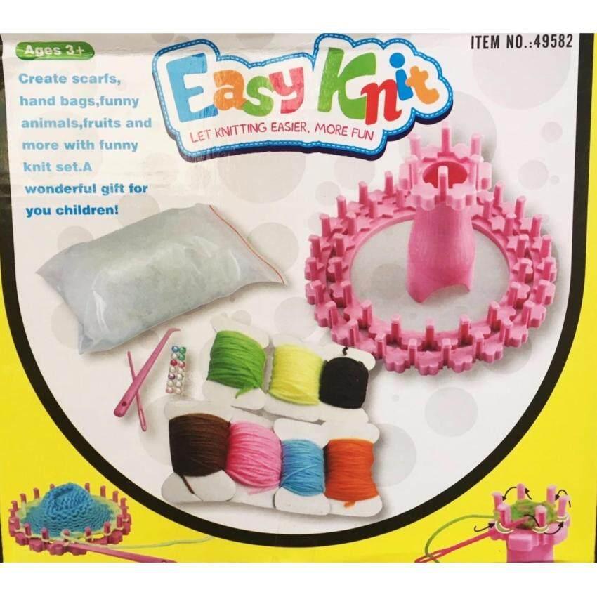Candy Toy Easy Knit ชุดทำตุ๊กตาไหมหรม  พร้อมอุปกรณ์