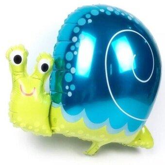 Cartoon Animal Foil Balloon Happy Birthday Party Wedding DecorationAir Balloon Kids Gift Snail - intl