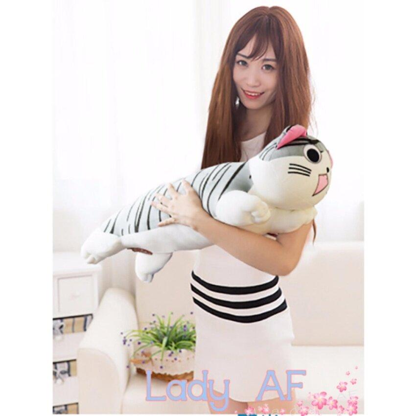 ขาย ตุ๊กตา หมอนข้าง แมว Chi ผ้ายืด spendex ขนาด 70 cm.