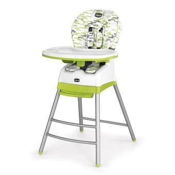 Chicco เก้าอี้ทานข้าว Stack 3-in-1 Multi Chair Kiwi