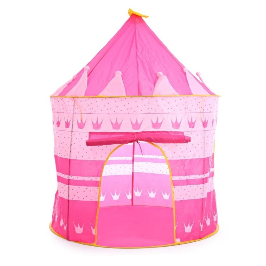 Children Folding Play House Portable Toy Tent Castle Playhut Pink Blue - intl