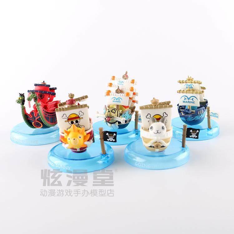 ลูฟี่หมวกฟาง chuan hao เรือรุ่นมือตุ๊กตา