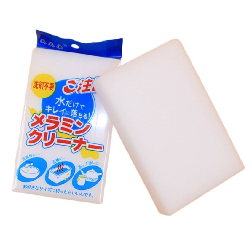 Cleaning Block Foam Magic Sponge Eraser Melamine 1Pcs - intl