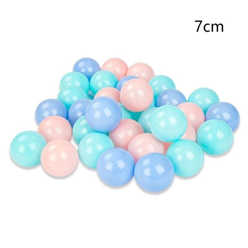 Color Random Macarons Ocean Ball Non-toxic Tasteless Thickened Million Ball - intl