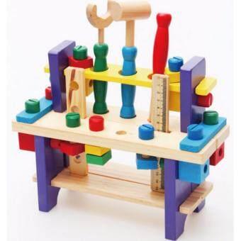 ของเล่นไม้เสริมพัฒนาการ ชุดเครื่องมือช่าง Combines the tool