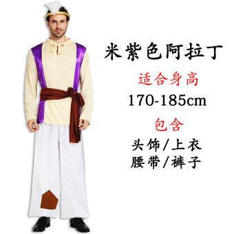 Cos อาหรับฮาโลวีนผู้ใหญ่เสื้อผ้ากษัตริย์