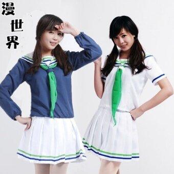 Cos Kuroko บาสเกตบอลเด็กนักเรียนเสื้อผ้า