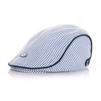 Cute Baby Kids Infant Boy Girl Stripe Beret Caps Peaked Casquette