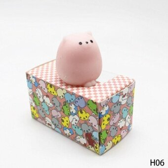 Cute Soft Squishy Soft Rubber Squishy Toy Reduce Pressure SqueezeFidget Toy H06 - intl