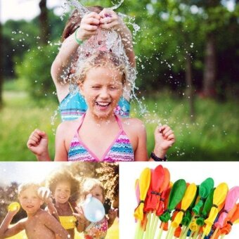 Cute Water Bombs Frozen Magic Balloon Kids Children Party Fillers Game Sand Toy - intl