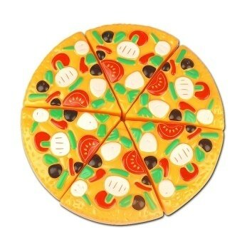 Cutting Plastic Pizza Food Kitchen Pretend Play Toyearlydevelopment And Education Toy For Baby Kids Children - intl