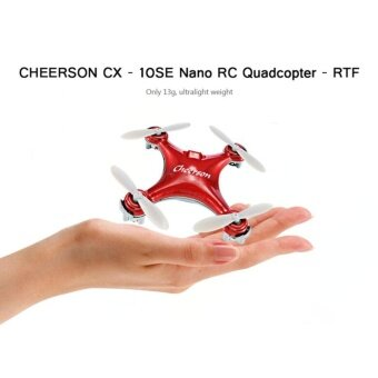 โดรนจิ๋ว CX-10 Mini 2.4G 4CH 6 Axis LED RC Quadcopter RTF Micro Drone