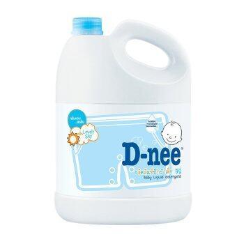 D-nee น้ำยาซักผ้าเด็ก แบบแกลลอน ขนาด 3000 มล. (สีฟ้า)