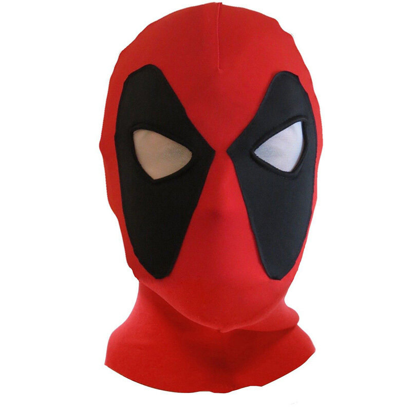 Deadpool Mask X-Men Mask Halloween Costume Hood Cosplay Headwear Full Face Mask - intl image