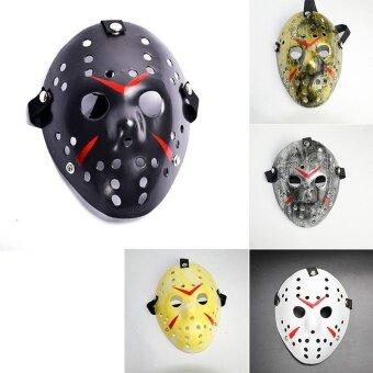 Decoration Halloween Horror Hockey Face Fancy Helmet Costume Cosplay Killer Mask Prop - intl
