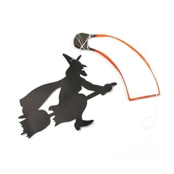 Diotem Halloween Decorations Folding Paper Parachute Holiday Decorations - intl