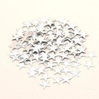 Diotem Pentagram Bright Piece Birthday Party Confetti WeddingDecoration - Silver - intl