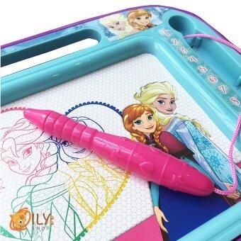 Disney Frozen Frozen Drawing Board กระดานวาดรูปเเม่เหล็กโฟรเซ่น 4สี เขียนเเล้วลบได้ (image 3)